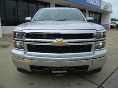 2014 Chevrolet Silverado1500 LT 4x2 LT 4dr Crew Cab 5.8 ft SB w/Z71 Pickup 4 Doors Silver Ice Metallic for sale in Houston, TX Source: http://www.usedcarsgroup.com/used-chevrolet-for-sale-in-houston-tx