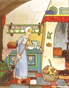 """""""Cinderella"""" by Rie Cramer. Repinned by www.mygrowingtraditions.com"""