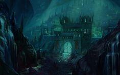 dark drow city - Google Search