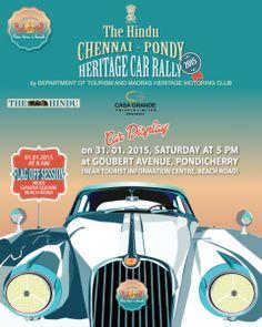 Pondicherry Heritage Car Rally 7th Edition - ZoomPondy.com