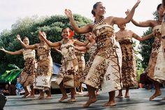 Tongan dancing (South Pacific)