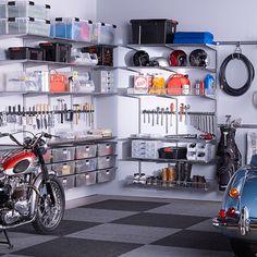 elfa utility Garage Driftwood & Platinum | SALE $1,591.59