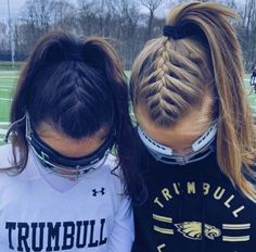 vsco # braids Soft, shiny, silky and well-groomed hair is our dream. # Braids for sports lacrosse vsco Shaved Side Hairstyles, Cute Braided Hairstyles, Cool Hairstyles, Halloween Hairstyles, Workout Hairstyles, 4 Braids Hairstyle, Braids For Long Hair, Hairstyle Short, Braid In Ponytail