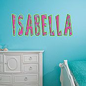My Name Wall Decal