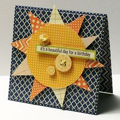 It's A Beautiful Day For A Birthday Card by Kim Frantz