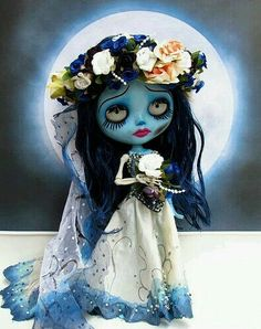 ~ †  A Emily Doll † Of The Corpse Bride Movie By Tim Burton † ~