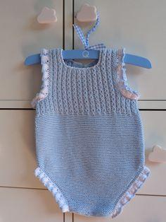 Diy Crafts Weave Ranita Ochitos Azul Handmade Amano 347269821258071791 P - Diy Crafts - Maallure - Diy Crafts - Maallure - Diy Crafts Baby Knitting Patterns, Knitting For Kids, Knitting Designs, Baby Patterns, Diy Romper, Knitted Romper, Romper Pattern, Baby Boy Blankets, Baby Sweaters