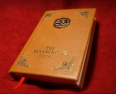 Die Unendliche Geschichte Book Replica - Leatherbound Prop Replica (Inspired by The Neverending Story) The Neverending Story Book, Cali, Dread Pirate Roberts, Auryn, The Last Unicorn, The Dark Crystal, Leather Books, Foil Stamping, Etsy