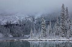 Lake O'Hara after a Fresh Snowfall | Flickr: Intercambio de fotos