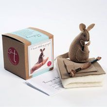 Kids can learn to sew a cute animal pal with this cool kit.