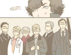 Sherlock.. this seems about right. by sevnilock. Click for artist blog.