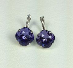 Swarovski Crystal Earrings  Designer by CathieNilsonDesigns, $22.00