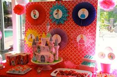Savannah's Disney Princess 4th Birthday | CatchMyParty.com