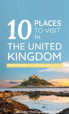Don't know which places to visit in the United Kingdom? Today is your lucky day because we just compiled the top 10 destinations in the UK you must not miss exploring. Cool Places To Visit, Places To Travel, Travel Destinations, Visit Uk, Europe Travel Guide, Travel Plan, Travel Guides, Uk Holidays, Ireland Travel