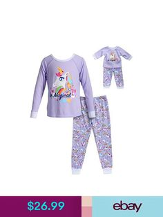 Dollie   Me Girl 4-14 and Doll Matching Gingerbread Pajamas Outfit American  Girl  605592314