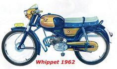 Batavus1962 Whippet blauw-goud