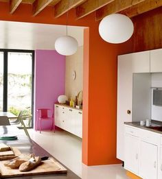 Home Interior Paint .Home Interior Paint Retro Home Decor, Home Decor Kitchen, Cheap Home Decor, Home Interior, Interior Architecture, Interior Decorating, Decorating Ideas, Interior Livingroom, Kitchen Interior