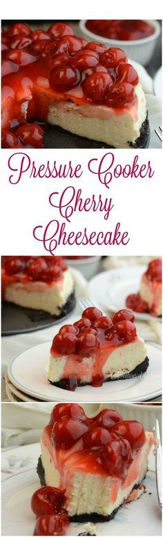 NY Cherry Cheesecake Instant Pot