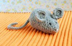 kleine Maus häkeln bunte-galerie.de                              …