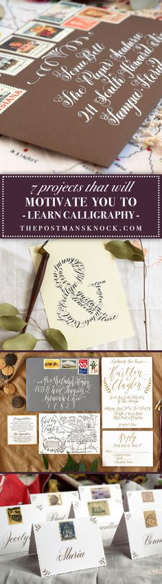 If you're looking for a calligraphy-centered project, you'll enjoy the seven suggestions in this post! It's totally worth it to set aside a few creative minutes to try one of them out.