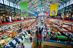 You will find plenty of fresh and local food at the Indianapolis City Market.