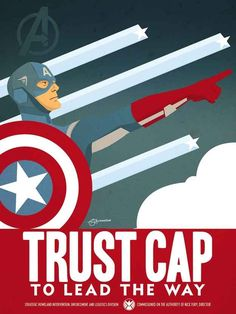 5 Avengers Propaganda Posters That Will Accidentally Recruit You. I love all of these a lot...