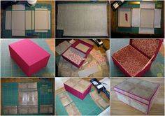Quilts and Boxes: A box for a friend