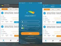TopCoder App Redesign