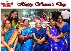 Whatever the age, women make everything everything beautiful by being just who they are. Happy Women's Day! Share your all-women pictures with us and spread the smile. Sri Padmavathi Silks, Dombivli, Mumbai, India. Ph +91 9821054556 www.facebook.com/sripadmavathisilkspage / www.sripadmavathisilks.com