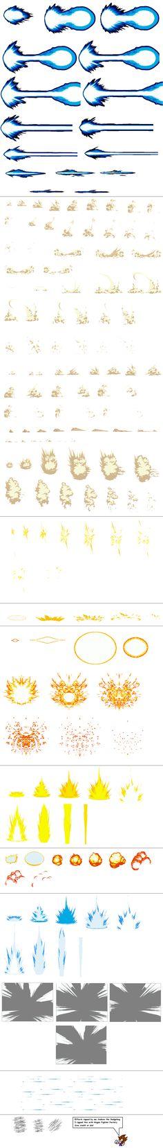Ultimate Effects Sheet 1 by Xypter on deviantART