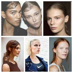 The fitness trend is taking fashion in new directions, toward cleaner lines, softer makeup, and more easy-going, sport-inspired hairstyles. Last year's wet look trend was all about youthful freshne...