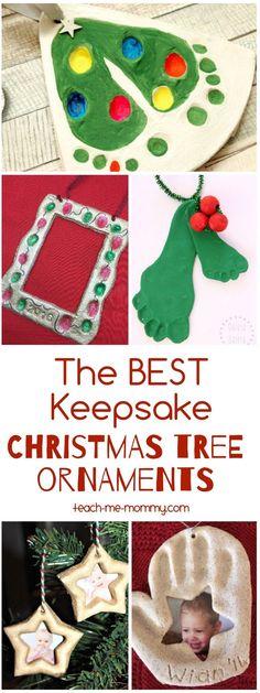 The best keepsake ornaments ever!