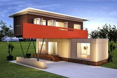10 Prefab Shipping Container Homes Prefab Shipping Container Homes, Shipping Container Home Designs, Cargo Container Homes, Building A Container Home, Container Buildings, Storage Container Homes, Container Architecture, Container House Plans, Container House Design