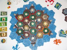 3d Catan board Catan Board, 3d, Cards, Maps, Playing Cards