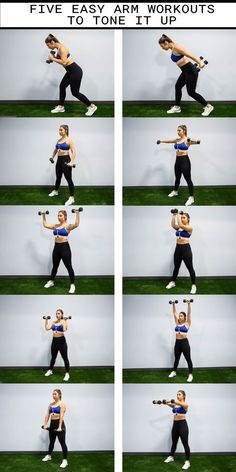 DUMBBELL WORKOUTS TO SCULPT YOUR ARMS Arm workout routine for women. A great at home workout with weights to tone your arms.Arm workout routine for women. A great at home workout with weights to tone your arms. Body Fitness, Fitness Tips, Health Fitness, Physical Fitness, Fitness Exercises, Fitness Quotes, Workout Fitness, Fitness Planner, Workout Tips