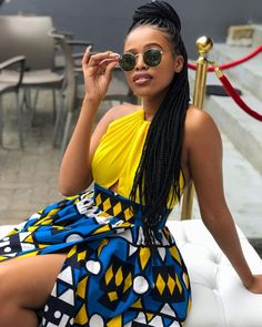 [African Prints] Creative and Stylish Casual Fashion Styles You Would Love African Party Dresses, Latest African Fashion Dresses, African Print Dresses, African Dresses For Women, African Print Fashion, African Attire, African Prints, Ankara Fashion, Africa Fashion