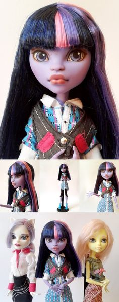 monster high dolls 2014 | Twilight Sparkle Custom Monster High Doll by Oak23