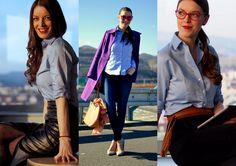 Mademoiselle IVA: 3 outfity & 1 košeľa. V hlavnej úlohe košeľa STEVULA :)