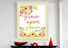 Hey, I found this really awesome Etsy listing at https://www.etsy.com/listing/474083159/john-116-grace-upon-grace-bible-verse