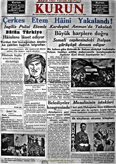 kurun gazetesi 1.teşrin 1935