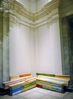 Richard Woods & Sebastian Wrong designed colorful furniture for the renowned brand Established and Sons.