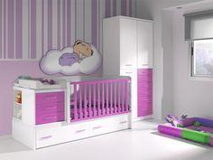 Decora la habitación de tu bebé, mientras duerme en la cuna y...