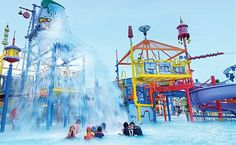 Wild Wild Wet is a water park in Singapore. It is described as on of the best in Singapore with a big wave pool, a good range of slides, plus a lazy river. The kids area is awesome and the kids will love it
