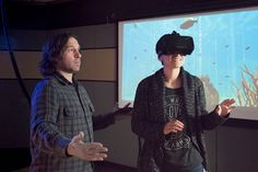 New advances in technology are sparking efforts to use virtual reality to help…