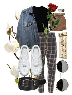 """cause they don't have any feelings"" by qimmig on Polyvore featuring Uniqlo, NIKE and Pyrrha"