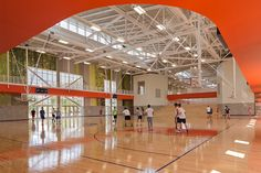 Draper Gym Equipment in the beautiful Auburn University Recreation and Wellness Center. #GymEquipment #SchoolDesign