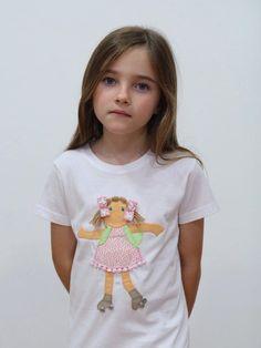 #camiseta #personalizada #muñeca en patines