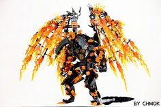 With LEGO, you can make the Balrog from LOTR even scarier