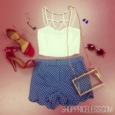 Love this outfit! #shoppricelesssummer