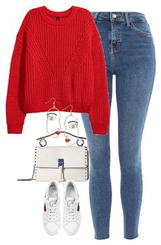 """""""Untitled #4802"""" by keliseblog ❤ liked on Polyvore featuring Topshop, Rebecca Minkoff and Marc Jacobs"""